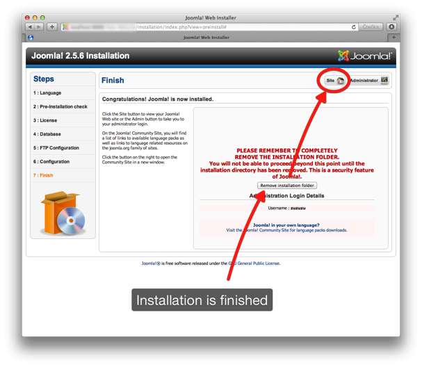 Quickstart Installation 8