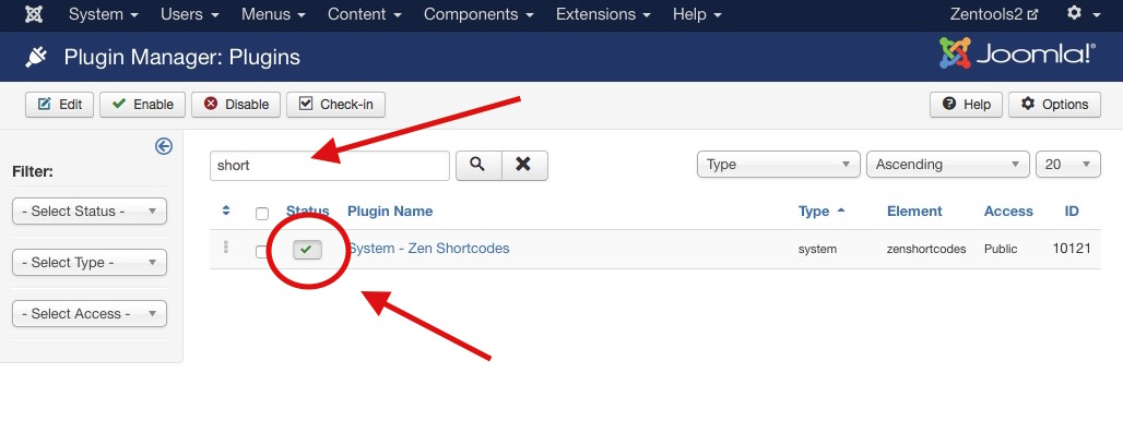 How to install a Joomla plugin step 5