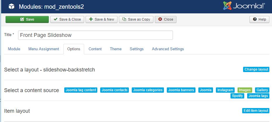 Banner Module Options | Medica Joomla Template Documentation